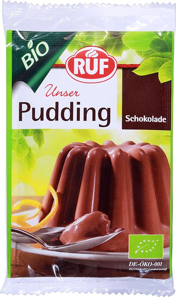 Abbildung des Sortimentsartikels Ruf Bio Schokolade Pudding 2x46g