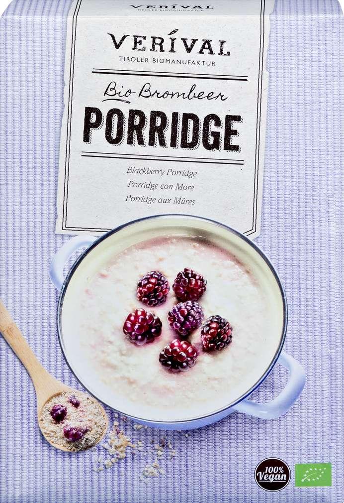 Abbildung des Sortimentsartikels Verival Brombeer Bio-Porridge 450g
