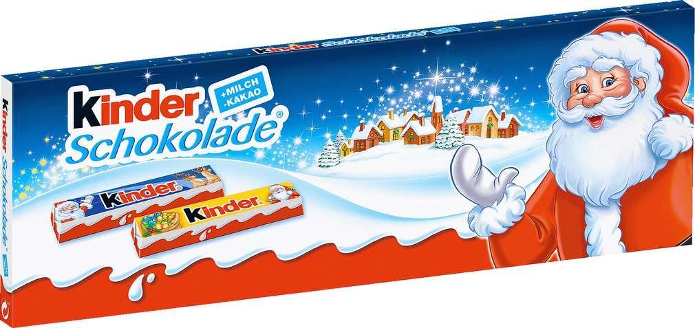 Abbildung des Sortimentsartikels Kinder Schokolade Weihnachtsedition 150g