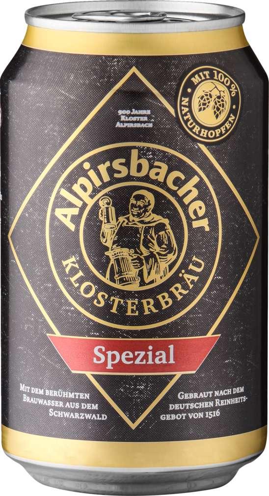 Abbildung des Sortimentsartikels Alpirsbacher Spezial 0,33l