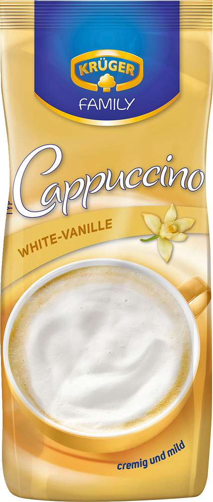 Abbildung des Sortimentsartikels Krüger Family Cappuccino White 500g
