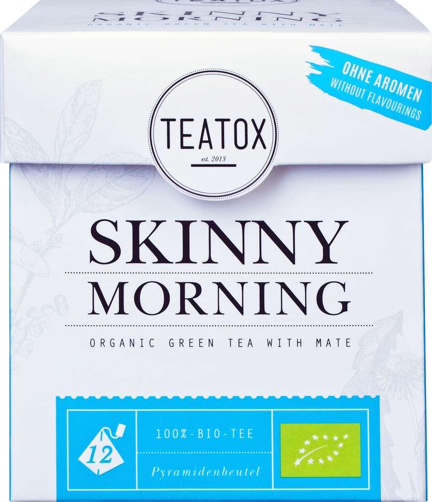 Abbildung des Sortimentsartikels Teatox Skinny Morning Bio-Grüntee 12x2g
