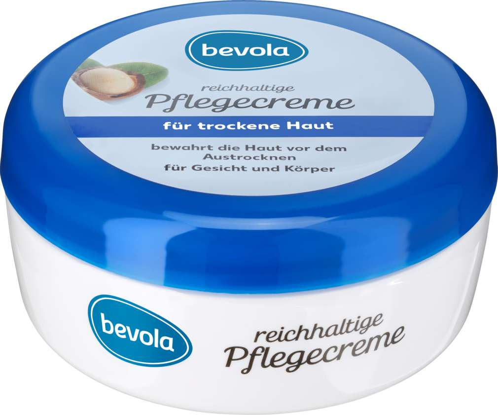 Abbildung des Sortimentsartikels Bevola Pflegecreme trockene Haut 250 ml