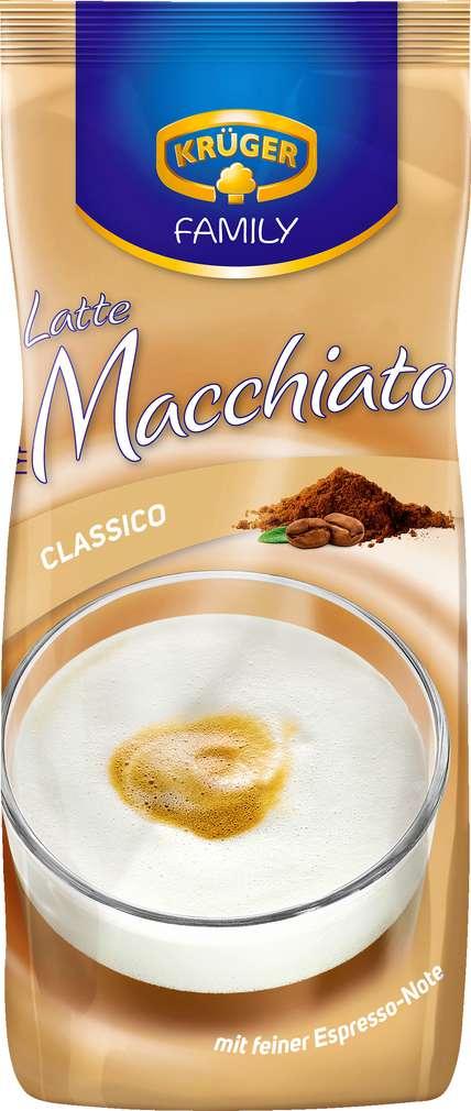 Abbildung des Sortimentsartikels Krüger Family Latte Macchiato 500g