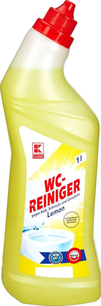 Abbildung des Sortimentsartikels K-Classic WC-Reiniger Lemon 1,0l