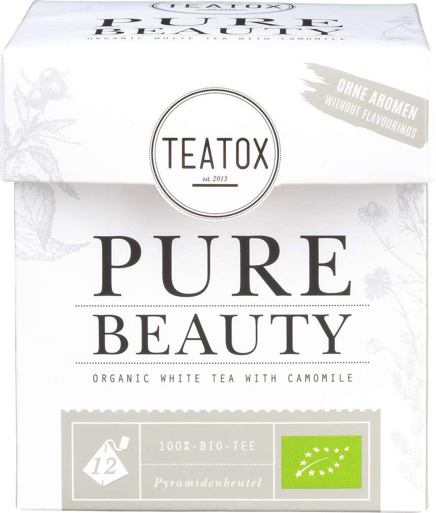 Abbildung des Sortimentsartikels Teatox Pure Beauty Bio-Weißer Tee 12x2g