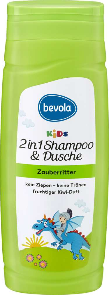 Abbildung des Sortimentsartikels Bevola KIDS Shampoo & Duschbad Zauberritter 300ml