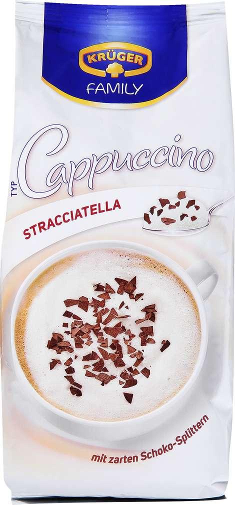 Abbildung des Sortimentsartikels Krüger Family Cappuccino Stracciatella 500g