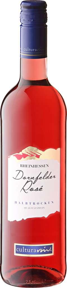 Abbildung des Sortimentsartikels Cultura Vini Dornfelder Rosé 0,75l