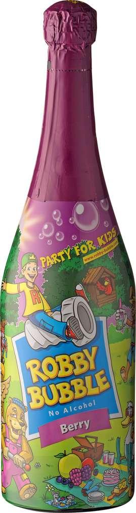 Abbildung des Sortimentsartikels Robby Bubble Berry alkoholfrei 0,75l