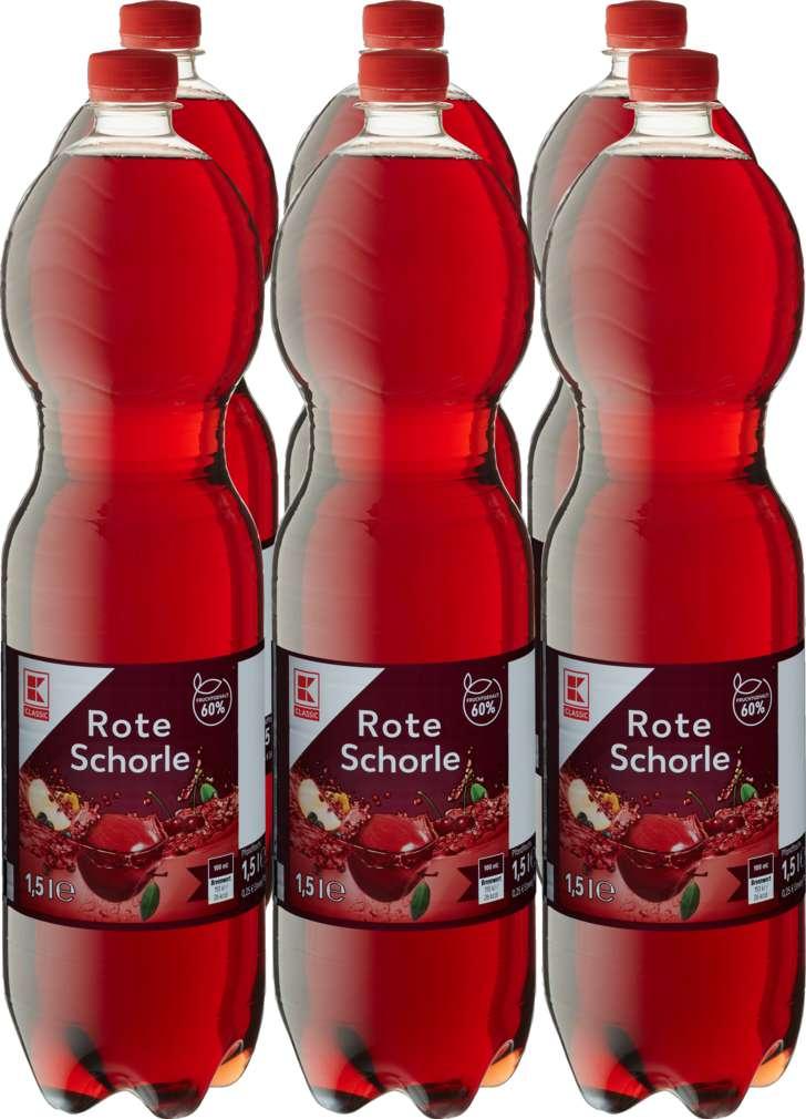 Abbildung des Sortimentsartikels K-Classic Rote Schorle 6x1,5l