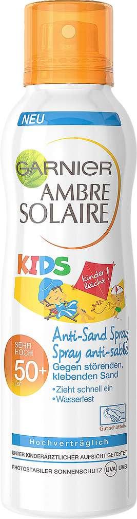 Abbildung des Sortimentsartikels Garnier Ambre Solaire Kids Sonnenschutz Spray Sandabweisend LSF50 200ml