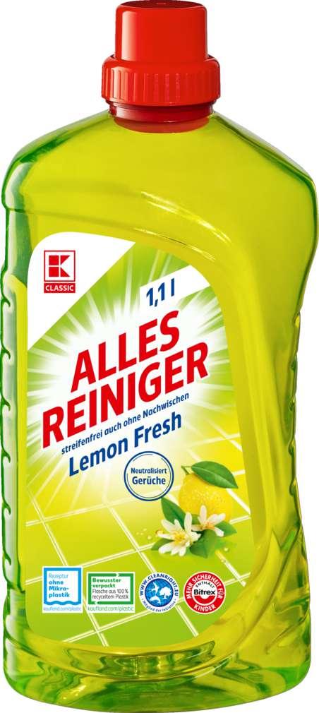 Abbildung des Sortimentsartikels K-Classic Allesreiniger Lemon 1,1l