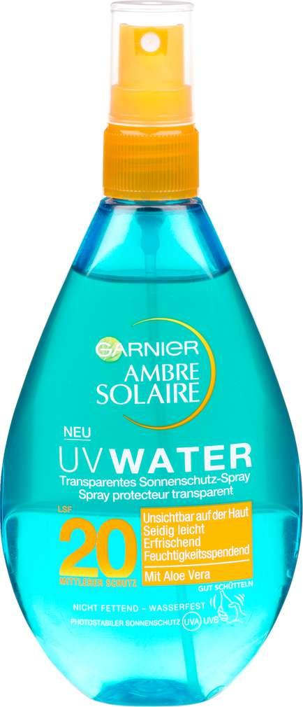 Abbildung des Sortimentsartikels Garnier Ambre Solaire UV Water Spray LSF 20 150ml