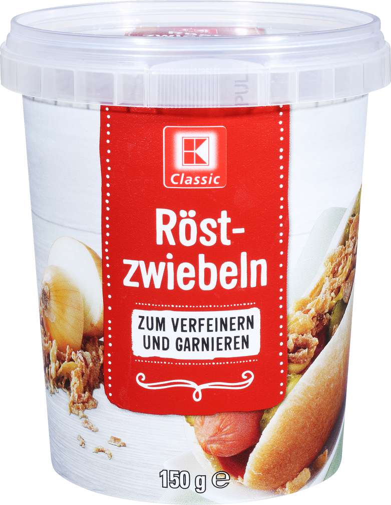 Abbildung des Sortimentsartikels K-Classic Röstzwiebeln 150g