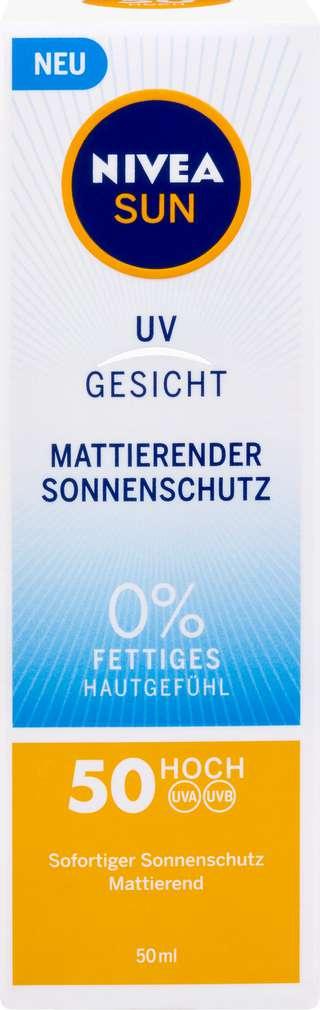 Abbildung des Sortimentsartikels Nivea Sun Mattierender Schutz LSF 50  50 ml