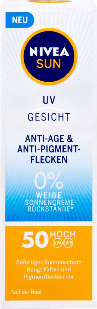 Abbildung des Sortimentsartikels Nivea Sun Anti Age LSF50 50ml