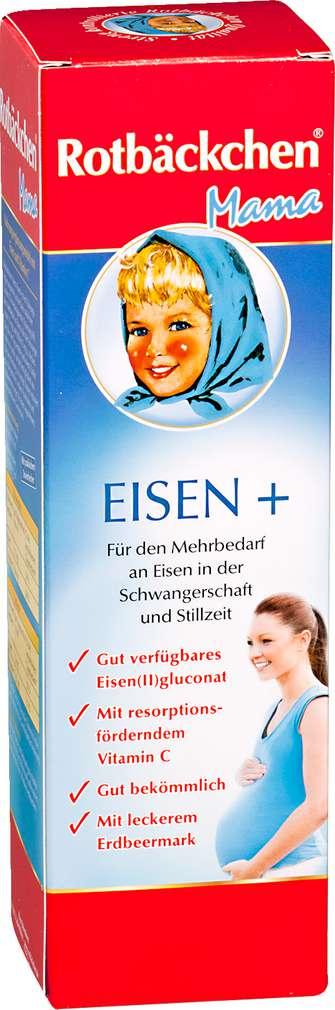 Abbildung des Sortimentsartikels Rotbäckchen Mama Saft Eisen + 450ml