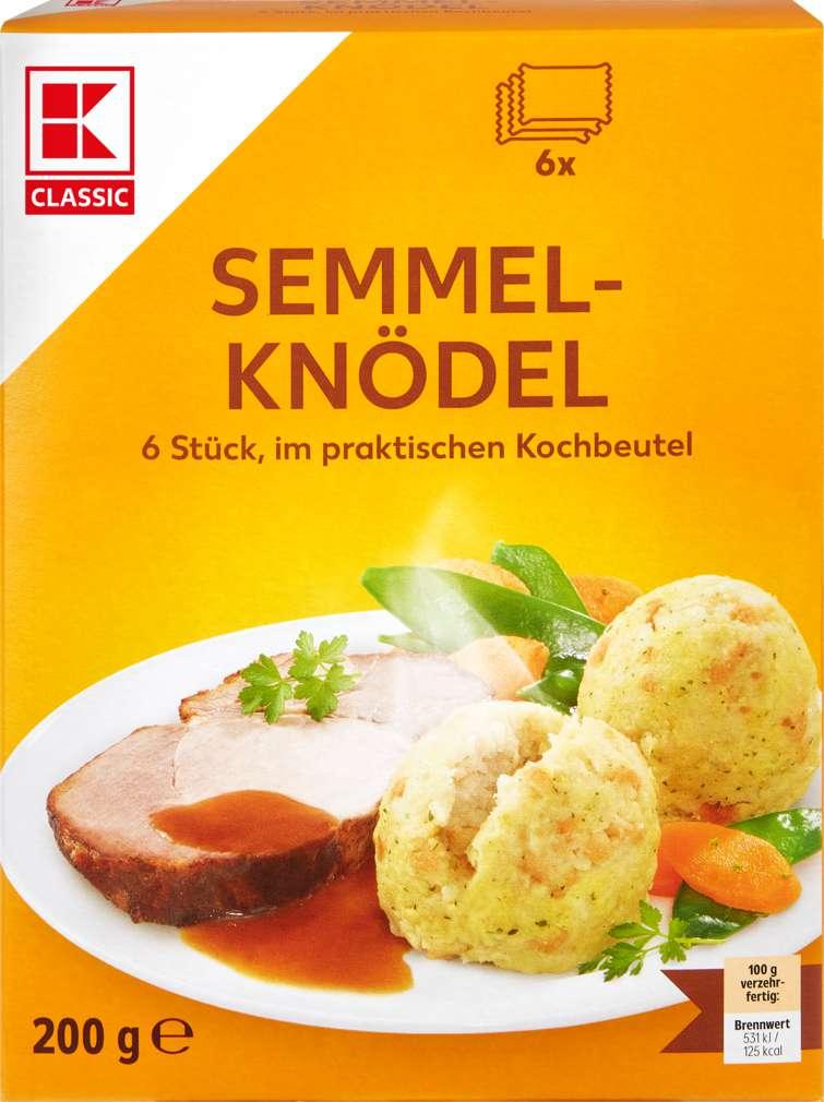Abbildung des Sortimentsartikels K-Classic Semmel Knödel 200g, 6 Stück