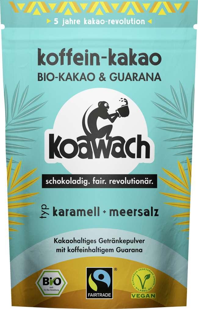 Abbildung des Sortimentsartikels Koawach Bio-Karamell-Meersalz vegan 100g