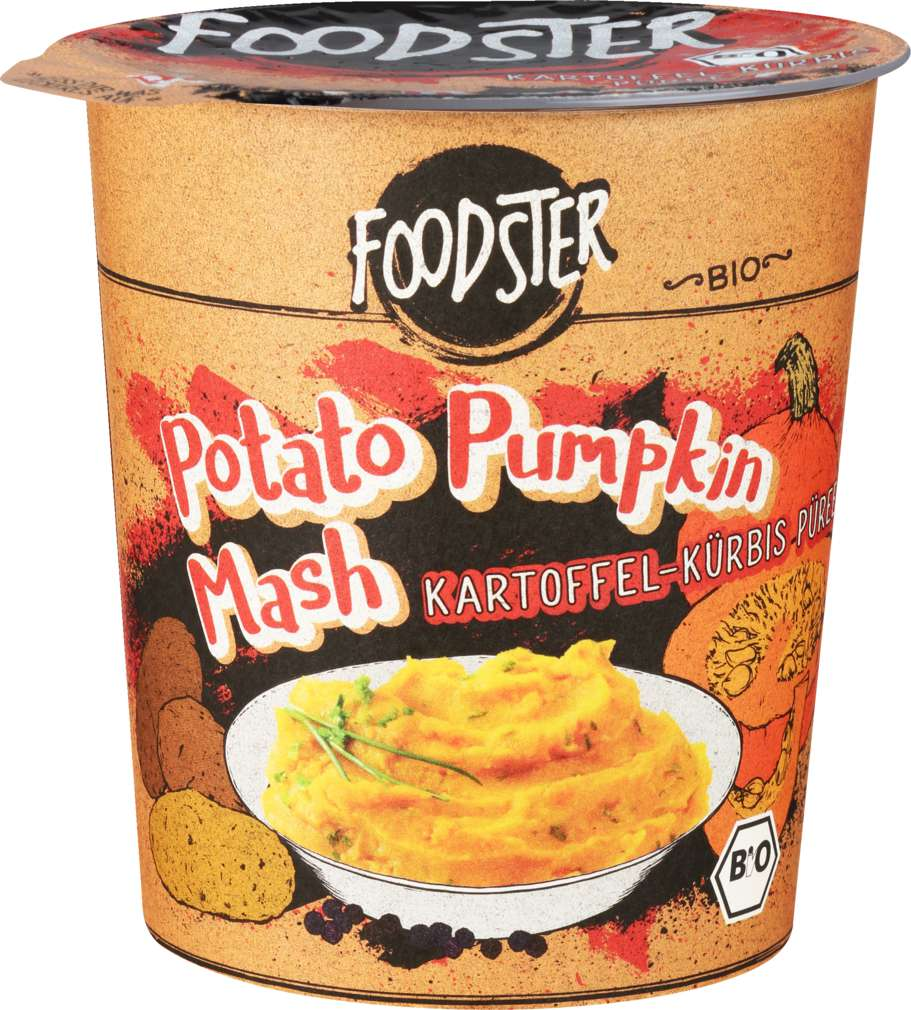 Abbildung des Sortimentsartikels Foodster Bio-Fertiggericht Potato Pumpkin Mash 50g