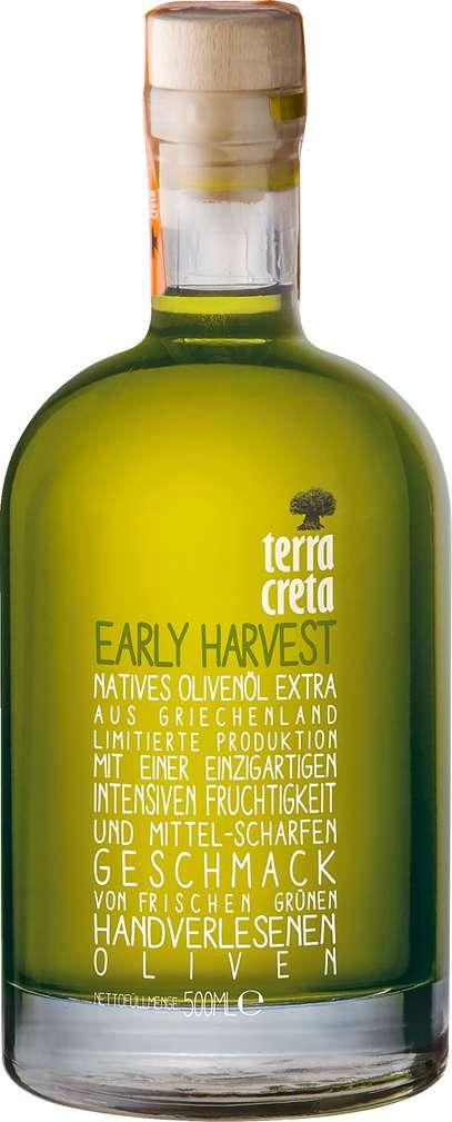 Abbildung des Sortimentsartikels Terra Creta Early Harvest Oliven-Öl extra virgin 500ml