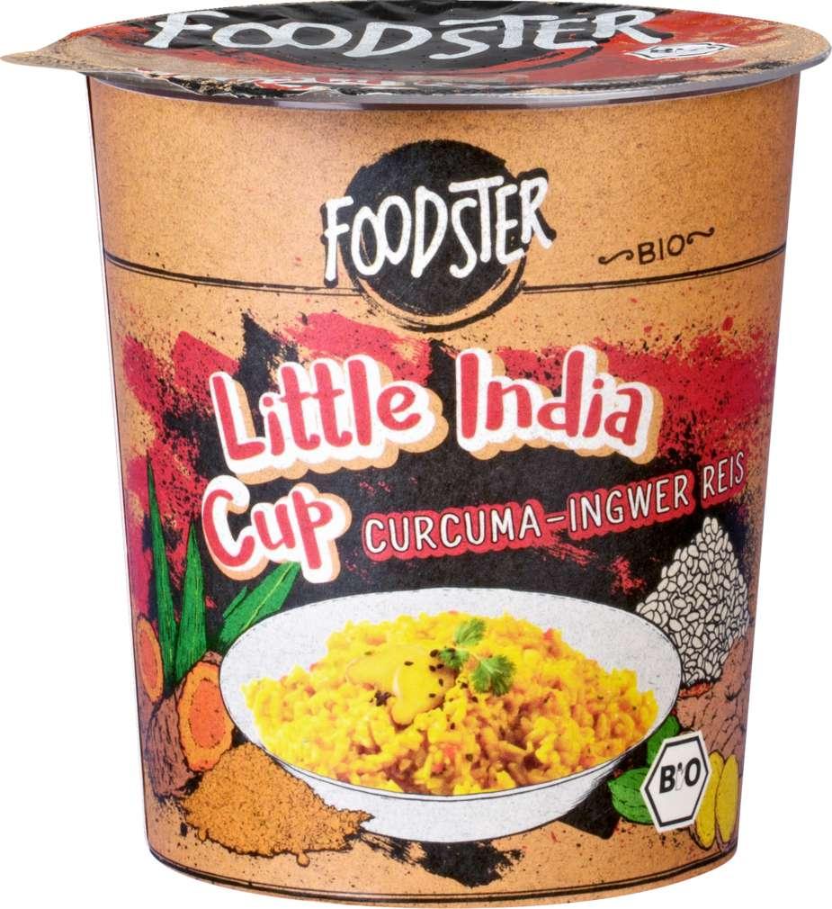 Abbildung des Sortimentsartikels Foodster Bio-Fertiggericht Little India Cup 80g