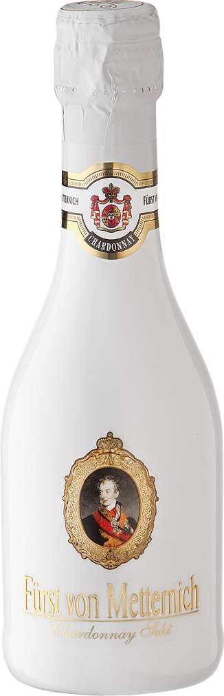 Abbildung des Sortimentsartikels Fürst von Metternich Chardonnay-Sekt trocken 0,2l