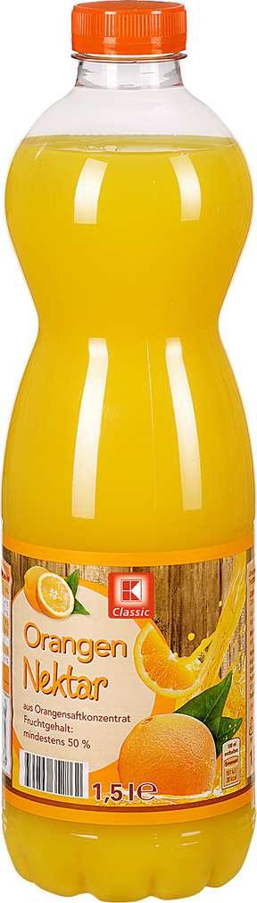 Abbildung des Sortimentsartikels K-Classic Orangen-Nektar 1,5l