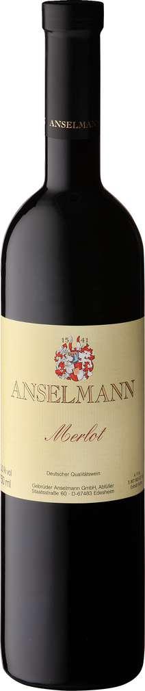 Abbildung des Sortimentsartikels Weingut Anselmann Merlot 0,75l