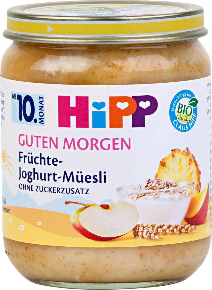 Abbildung des Sortimentsartikels Hipp Guten Morgen Früchte-Joghurt-Müesli 160g