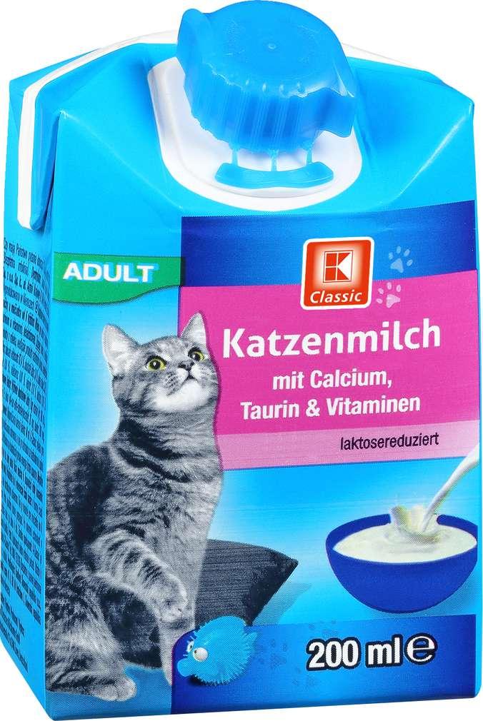 Abbildung des Sortimentsartikels K-Classic Katzenmilch 200ml
