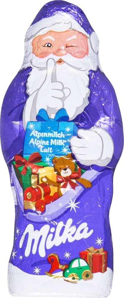Abbildung des Sortimentsartikels Milka Alpenmilch Weihnachtsmann 50g