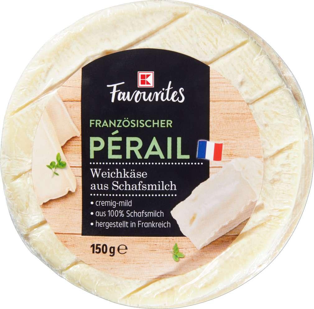 Abbildung des Sortimentsartikels K-Favourites Le Pérail 50% Fett i.Tr. 150g
