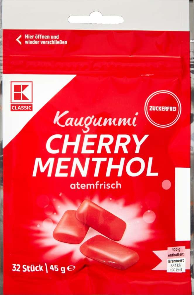 Abbildung des Sortimentsartikels K-Classic Cherry Menthol 45g