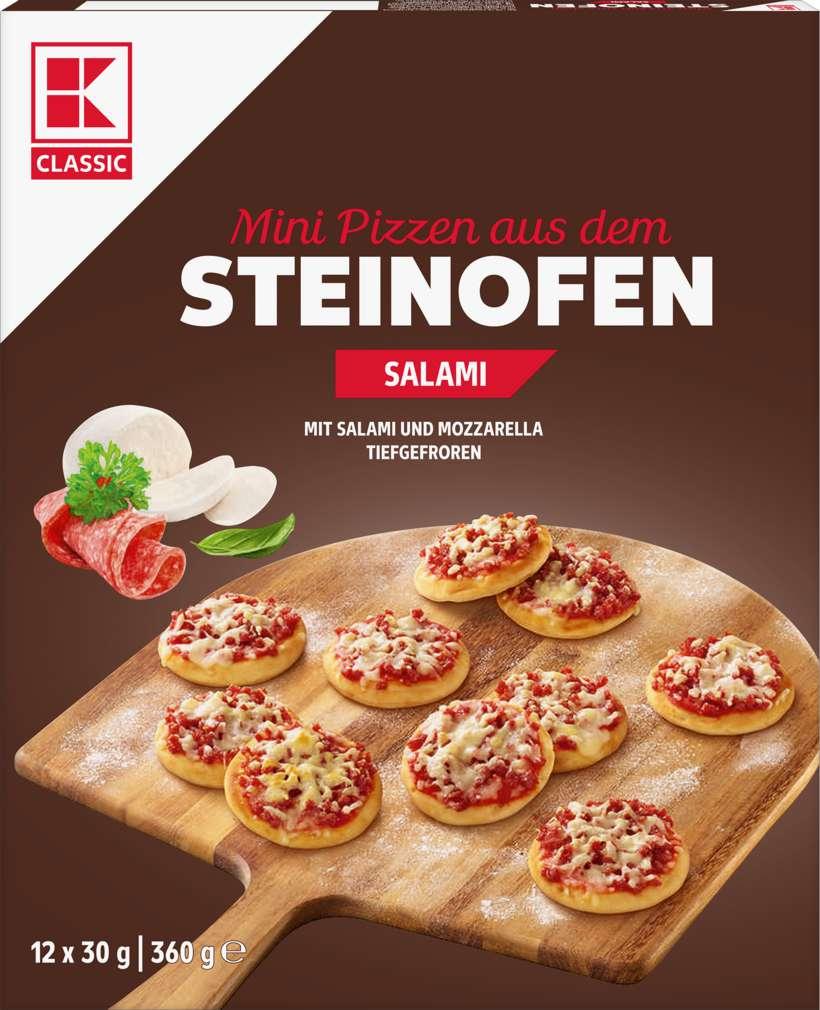 Abbildung des Sortimentsartikels K-Classic Mini-Pizza Salami 360g