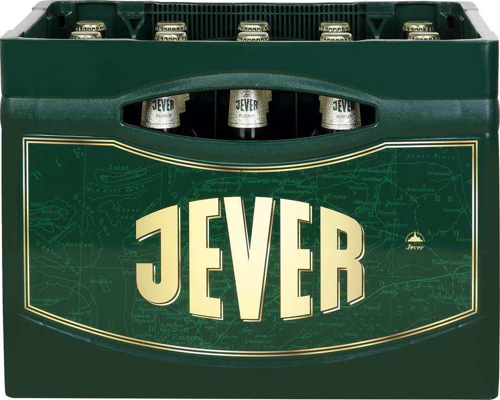Abbildung des Sortimentsartikels Jever Pilsener 20x0,5l