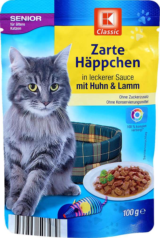 Abbildung des Sortimentsartikels K-Classic Zarte Häppchen Huhn +  Lamm 100g