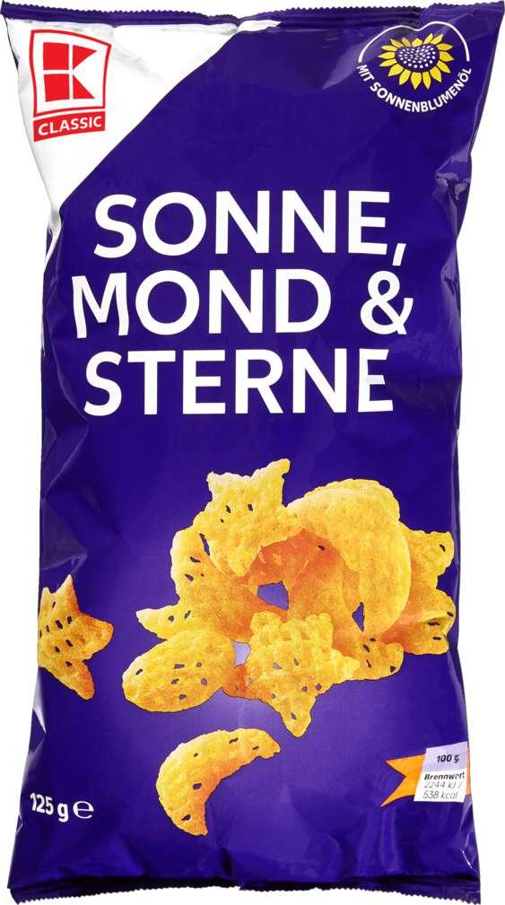 Abbildung des Sortimentsartikels K-Classic Sonne-Mond-Sterne Kartoffel-Snack 125g
