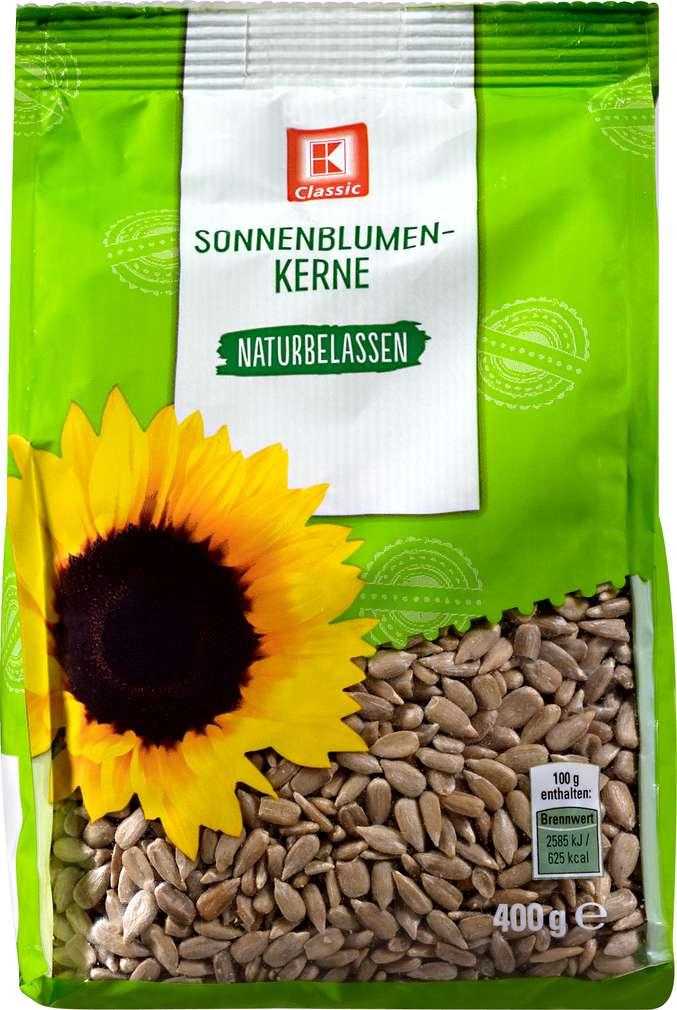 Abbildung des Sortimentsartikels K-Classic Sonnenblumenkerne naturbelassen 400g