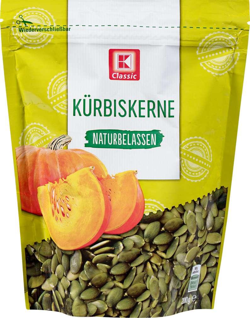 Abbildung des Sortimentsartikels K-Classic Kürbiskerne naturbelassen 200g