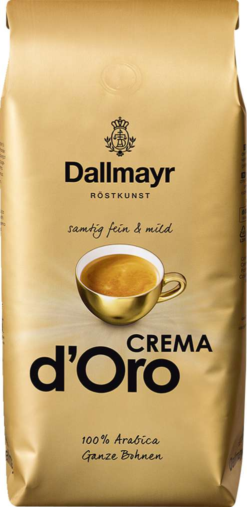 Abbildung des Sortimentsartikels Dallmayr Crema d'Oro 1000g