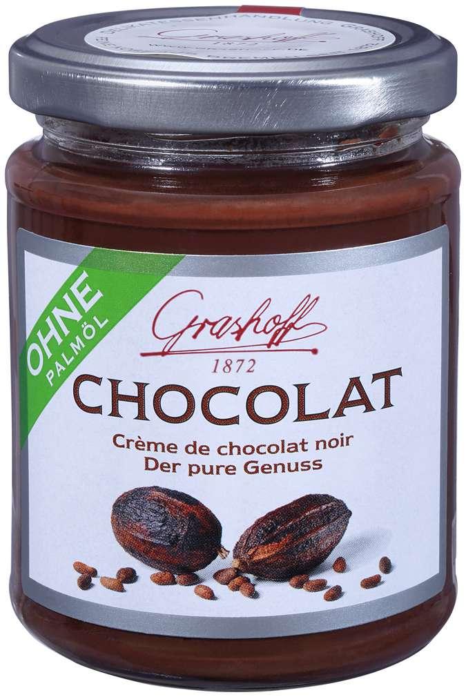 Abbildung des Sortimentsartikels Grashoff Dunkle Schokoladencrème 250g