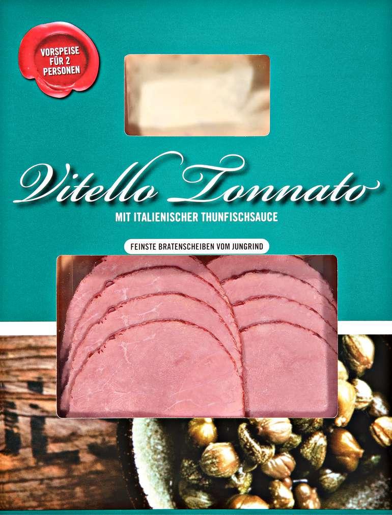 Abbildung des Sortimentsartikels Skare Vitello Tonnato mit italienischer Thunfischsauce 110g