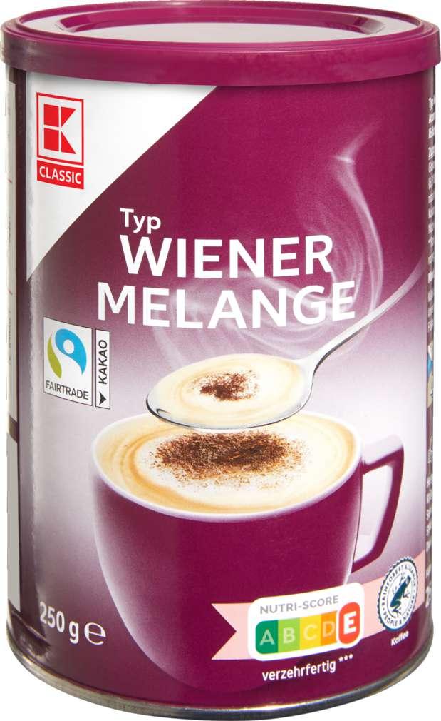 Abbildung des Sortimentsartikels K-Classic Wiener Melange 250g