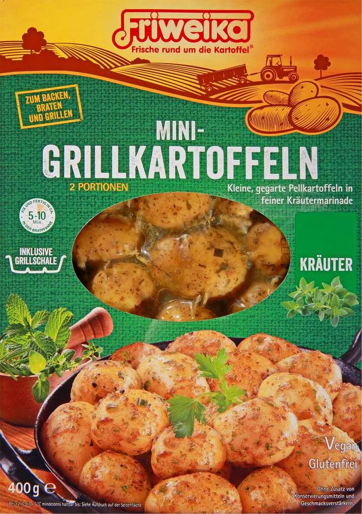 Abbildung des Sortimentsartikels Friweika Mini-Grillkartoffeln Kräuter 400g