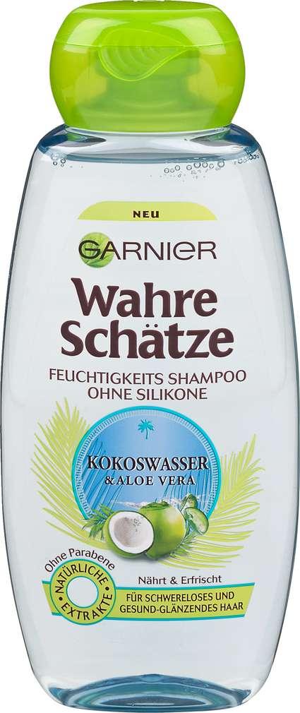 Abbildung des Sortimentsartikels Garnier Wahre Schätze Shampoo Kokoswasser 300ml