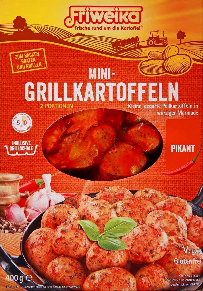 Abbildung des Sortimentsartikels Friweika Mini-Grillkartoffeln Pikant 400g