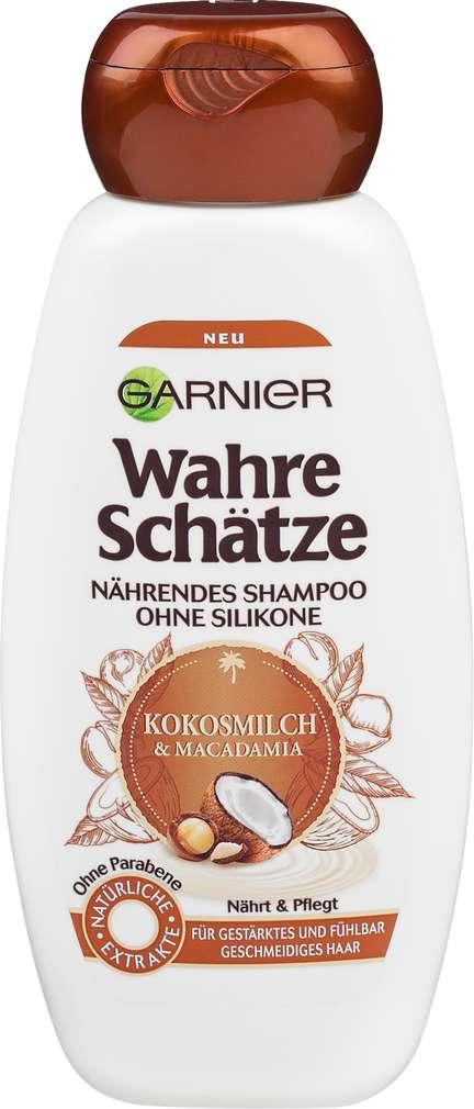 Abbildung des Sortimentsartikels Garnier Wahre Schätze Shampoo Kokosmilch 300g