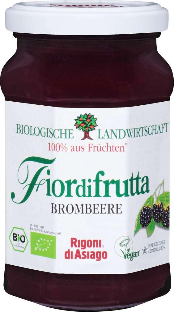 Abbildung des Sortimentsartikels Fiordifrutta Bio-Fruchtaufstrich Brombeeren 250g